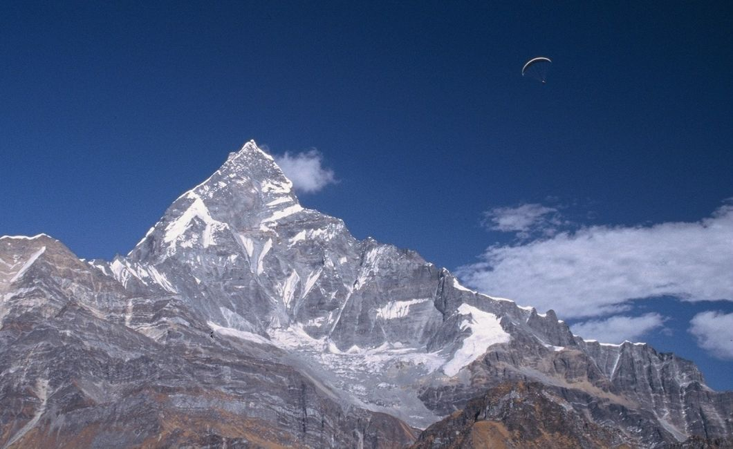 Machapuchare has been declared sacred peak